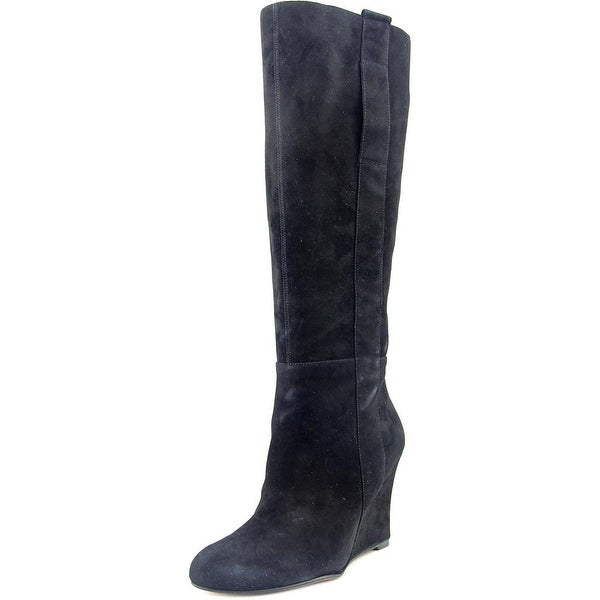 bff430718fc7 Shop Nine West Oran Women Black Boots - Free Shipping On Orders Over ...