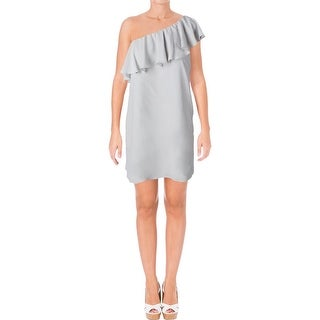 French Connection Womens One Shoulder Shift Dress