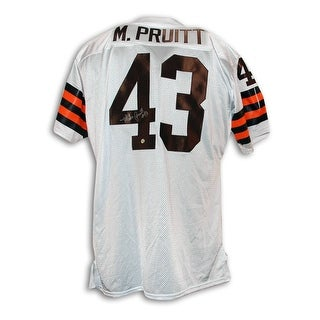 Mike Pruitt Cleveland Browns Autographed Throwback Jersey