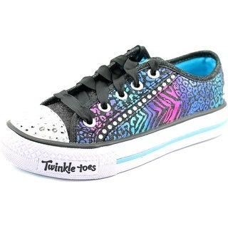 Skechers Lovely Youth Round Toe Canvas Multi Color Sneakers