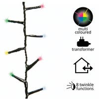 Celebrations 987498 LED Twinkle Compact Christmas Lights, Multicolored, 1000 lights