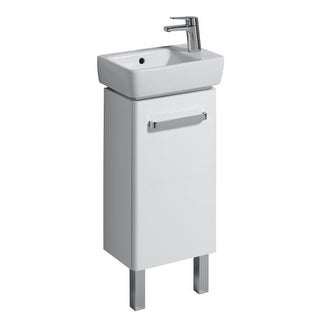 Bissonnet 862040-276140 Comprimo 13-7/10? Free Standing or Wall-Mount Vanity Set with MDF Cabinet and Right Hand Integrated