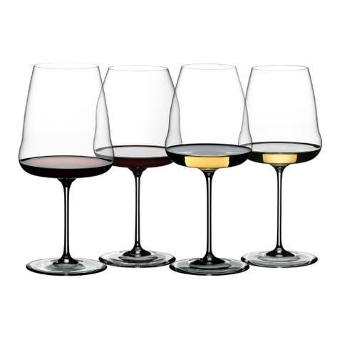 Riedel Winewings Tasting Wine Glass Set (4-Pack)