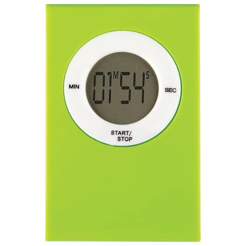 Magnetic Digital Timer Lime