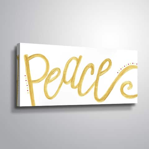 ArtWall Peace Gallery Wrapped Canvas