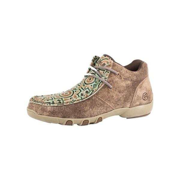 Roper Western Shoes Womens Suzi Lace Up Chukka