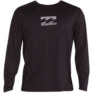Billabong Boys' Chronicle Long Sleeve Surf T-Shirt Black 14