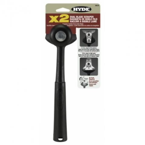 Hyde 10630 X2 Dual Blade Scraper
