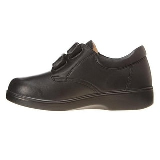 Apex Womens Leather Casual Oxfords - 5.5 extra wide (e+, ww)