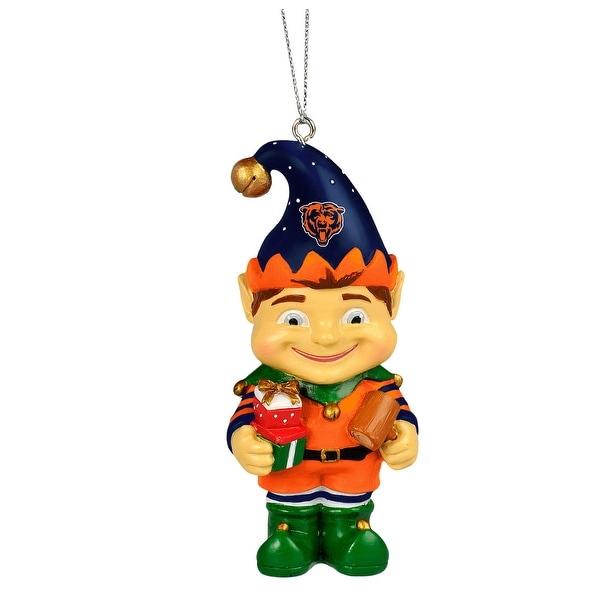 Chicago Bears 2014 Resin Elf Ornament