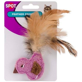 Duck; Fish Or Butterfly With Feathers - Feather Frenzy Cat Toy