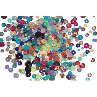 Stanislaus Metallic Cup Sequin Assortment, 6 to 12 Millimeters, 11 Ounces