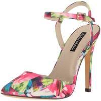 Michael Antonio Women's Liric-Sat Heeled Sandal