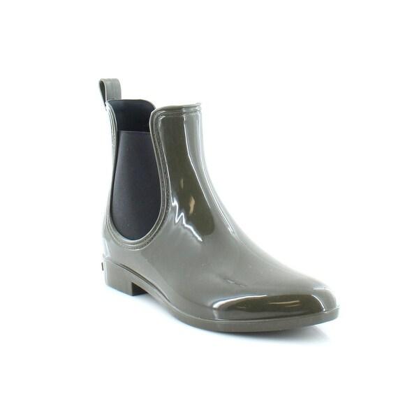INC Rubiee Chelsea Women's Boots Olive - 9