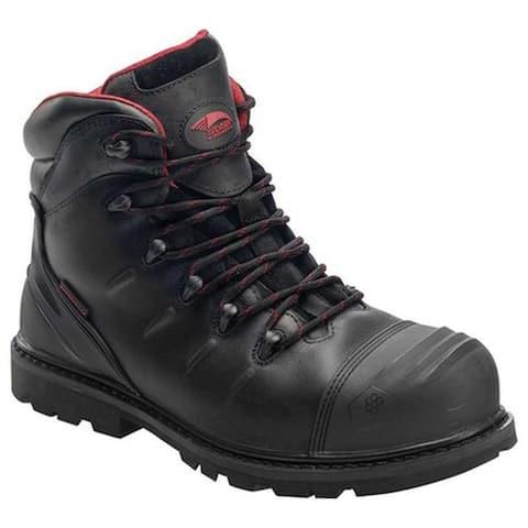 93d494b5445734 Avenger Men's A7547 Carbon Nanofiber Comp Toe EH PR WP Boot Black Full  Grain Crazy Horse