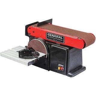 General International BD7004 4a 2-In-1 Belt & Disc Sander