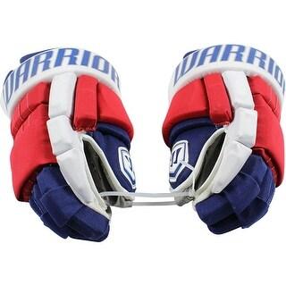 Nick Holden New York Rangers 201617 Season Game Used 22 Warrior Gloves