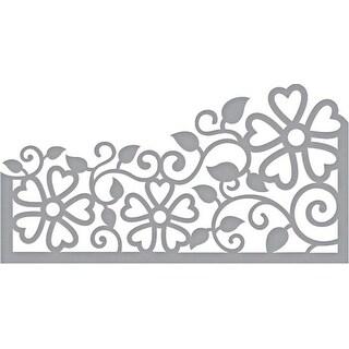 Side Floral Panel - Spellbinders Shapeabilities Dies