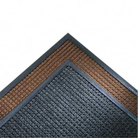 Crown SSR310CH Super-Soaker Wiper Mat with Gripper Bottom Polypropyl 34 x 119 Charcoal