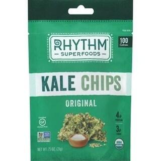 Rhythm Superfoods - Original Organic Kale Chips ( 18 - 0.75 oz bags)