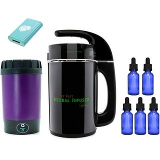 tCheck 2 Infusion Potency Tester (Green) with Herbal Infuser Bundle