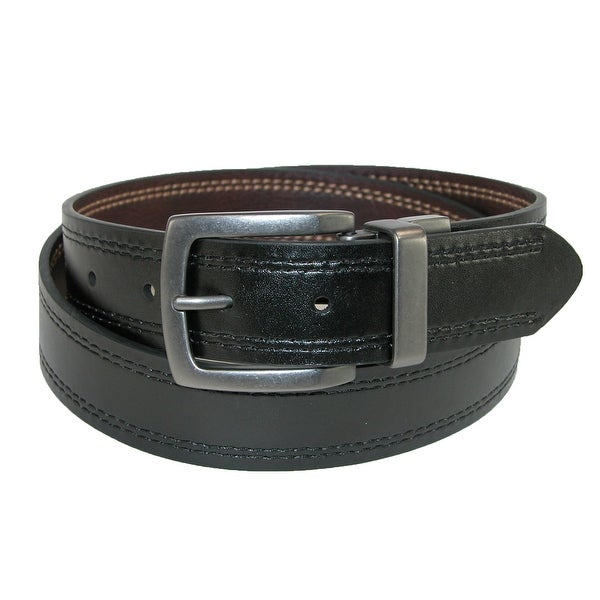 Dickies Men's 35mm Reversible Belt with Contrast Stitch