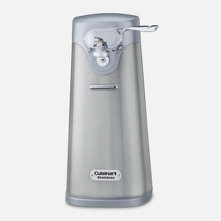 Cuisinart SCO-60FR Deluxe Stainless Steel Can Opener, Silver, Certified Refurbished