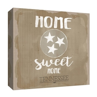"PTM Images 9-126914  PTM Canvas Collection 12"" x 12"" - ""Sweet Home"" Giclee Home Art Print on Canvas"