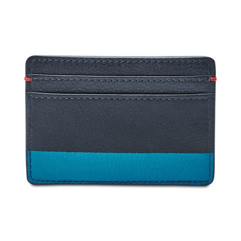 Fossil Mens Andy Coin Card Case Wallet - One Size