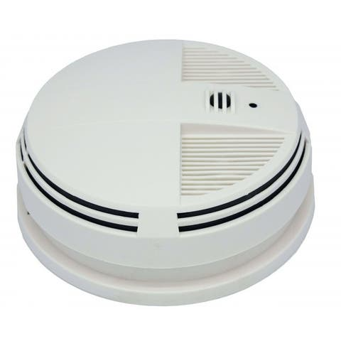 SpyTec SG1540WF Wi-Fi Smoke Detector W/ 720p HD Motion Activated Night Vision Hidden Camera (Bottom View)