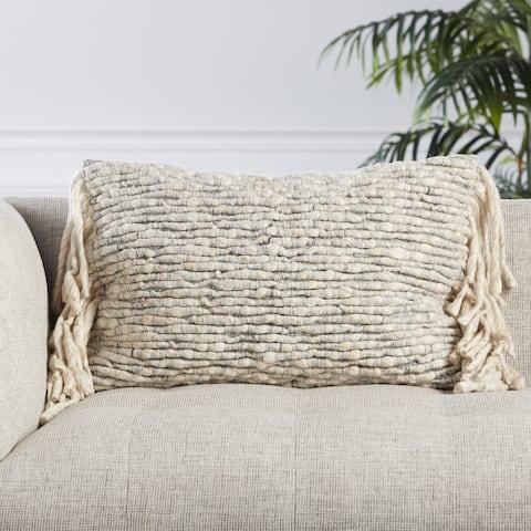 Cress Textured Lumbar Pillow