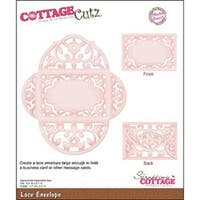 "Lace Envelope 3.7""X2.5"" - Cottagecutz Die"