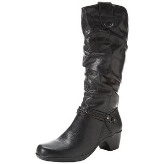 Easy Street Women's Joya Plus Western Slouchy Boots