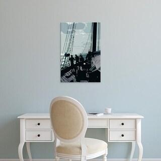 Easy Art Prints Carolyn Longley's 'Caribbean Vessel II' Premium Canvas Art