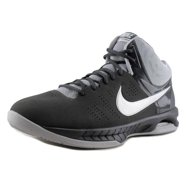 Nike Air Visi Pro VI NBK Men Round Toe Leather Gray Basketball Shoe