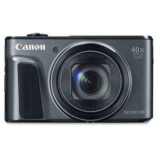 Canon PowerShot SX720 HS 20.3 Megapixel Compact Camera - Black - (Refurbished)