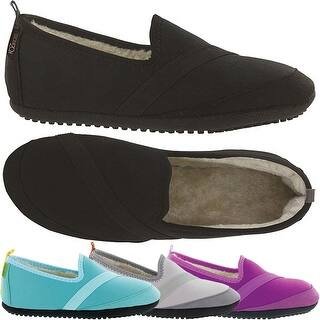 KoziKicks Women's Ergonomic Comfort Non-Slip Sole Plush-Lined Active Slippers|https://ak1.ostkcdn.com/images/products/is/images/direct/19adf8c1fbbf50bfe1398fa8d8ed2ab303841d64/KoziKicks-Women%27s-Ergonomic-Comfort-Non-Slip-Sole-Plush-Lined-Active-Slippers.jpg?impolicy=medium