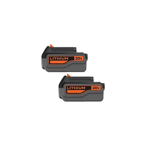Battery for Black and Decker LB2X4020OPE (2-Pack) Battery for Black & Decker LB2X4020-OPE