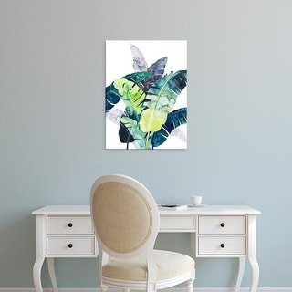 Easy Art Prints Grace Popp's 'Twilight Palms II' Premium Canvas Art