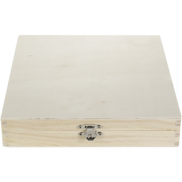 Darice Unfinished Cigar Box 6/Pkg-