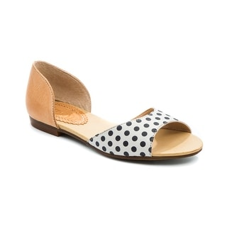 Latigo Mollee Women's Flats & Oxfords Black/White Polka Dots