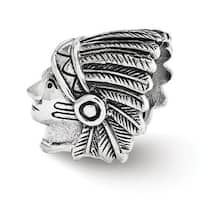 Sterling Silver Reflections Chief Bead (4mm Diameter Hole)