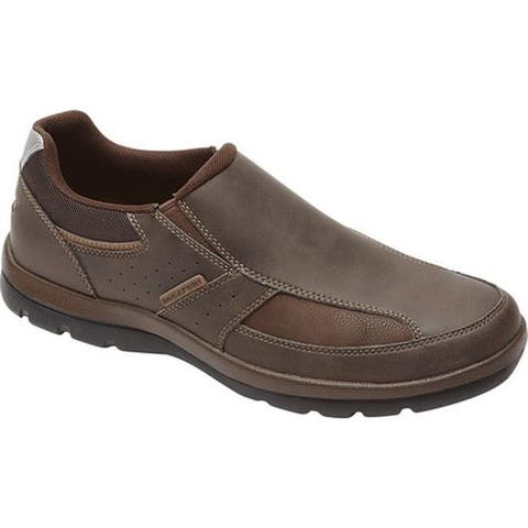 Rockport Men's Get Your Kicks Slip On Brown
