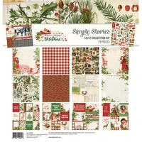 "Simple Stories Collection Kit 12""X12""-Simple Vintage Christmas"