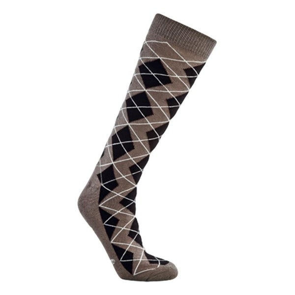 Old West Socks Womens Over Calf Reinforced Cushion Multi Color - Multi-color
