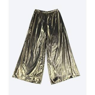 MSK NEW Gold Womens Size Large L Metallic Pull-On Wide Leg Dress Pants|https://ak1.ostkcdn.com/images/products/is/images/direct/19b73aca45f0de65c4598d62941d255434a20000/MSK-NEW-Gold-Womens-Size-Large-L-Metallic-Pull-On-Wide-Leg-Dress-Pants.jpg?impolicy=medium
