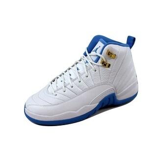 Nike Grade-School Air Jordan XII 12 Retro GG Black/Black-Dark Grey 510815-127 Size 6.5Y