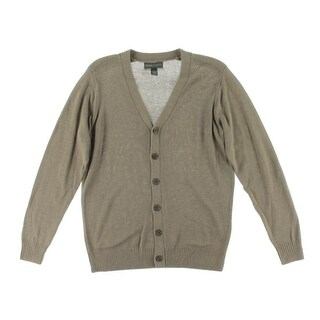 Tricots St. Raphael Mens Cardigan Sweater V-Neck Heathered - XL
