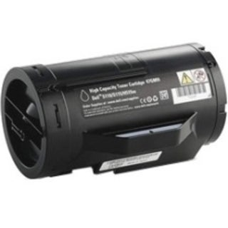 Dell Toner Cartridge - Black - Laser - High Yield - 6000 Page - 1 (Refurbished)