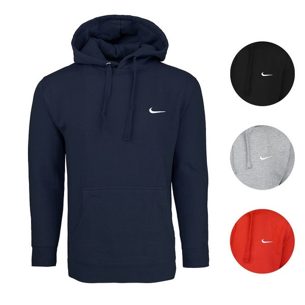7550ab411322e8 Shop Nike Men s Club Fleece Hoodie - Free Shipping On Orders Over  45 -  Overstock - 25602917